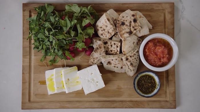 Yotam Ottolenghi MasterClass bread spread