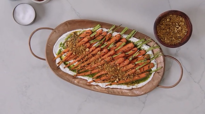 Yotam Ottolenghi MasterClass carrots