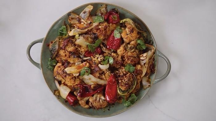 Yotam Ottolenghi MasterClass roasted cauliflower