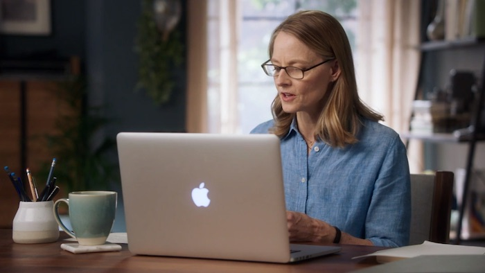 A scene from Jodie Foster's MasterClass