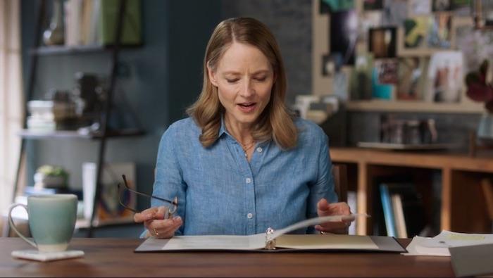 Jodie Foster on filmmaking