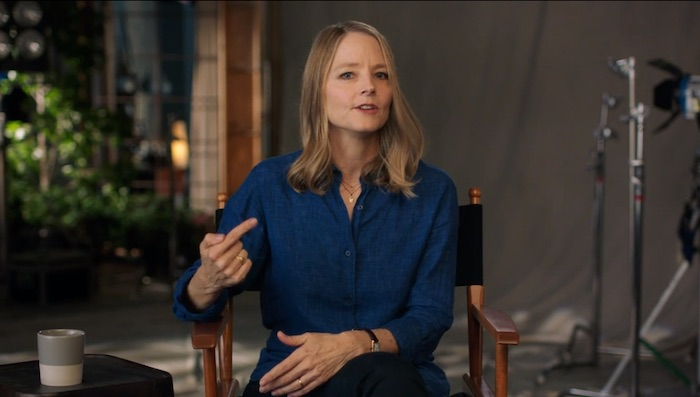 Jodie Foster teaching about finding your personal story