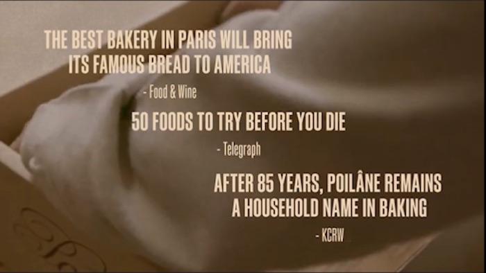 Quotes about Apollonia Poilâne's bread