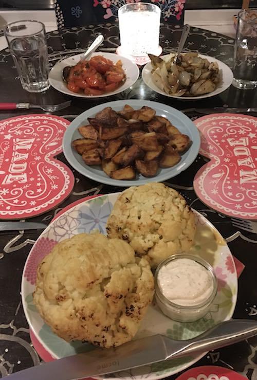 A dish I made following a YesChef recipe