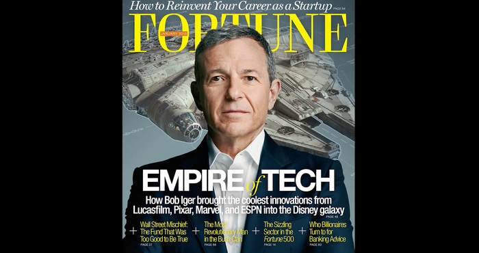 Bob Iger teaches business strategy and leadership