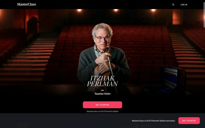 Itzhak Perlman MasterClass