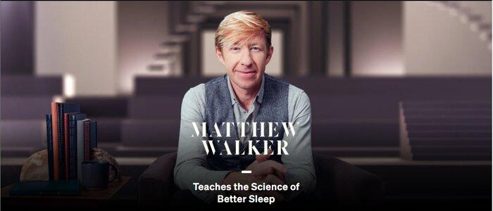 Matthew Walker MasterClass