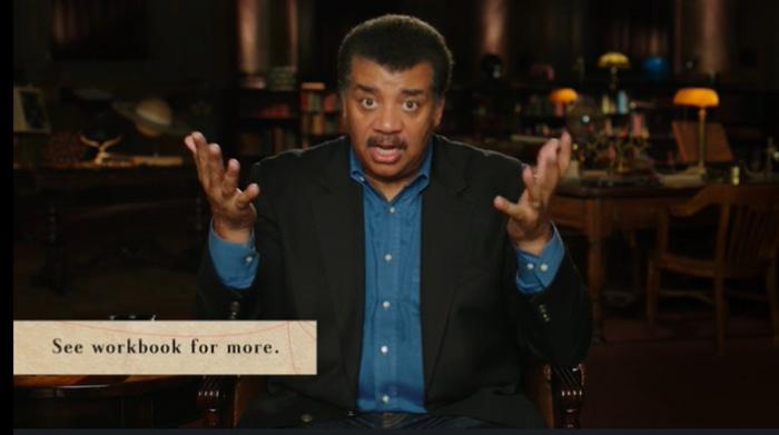 Neil deGrasse Tyson talking about science