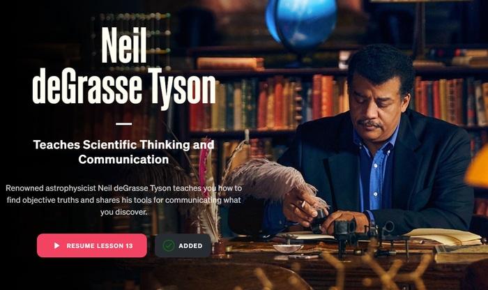 Neil deGrasse Tyson teaches scientific thinking