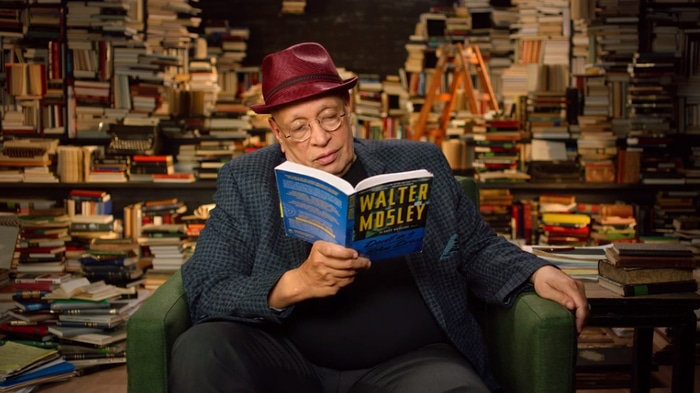 Walter Mosley talking about plot
