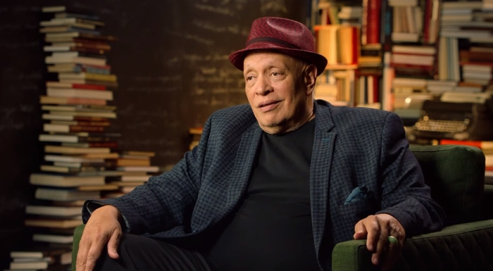Walter Mosley in his MasterClass