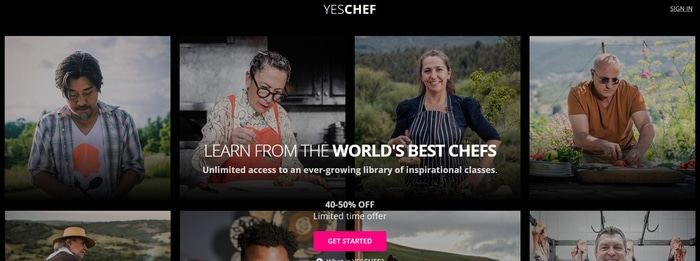 YesChef learn from the worlds best chefs