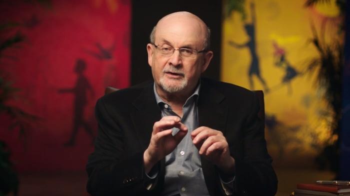 Salman Rushdie talking about storytelling