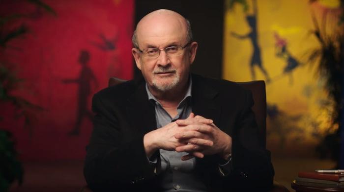 Salman Rushdie teaching writing and storytelling