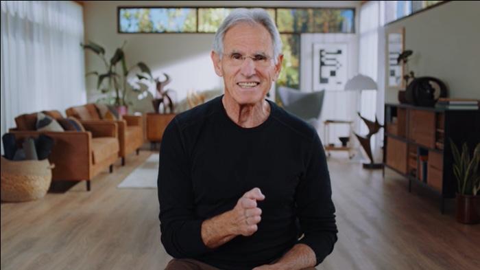 Jon Kabat-Zinn teaches mindfulness and meditation