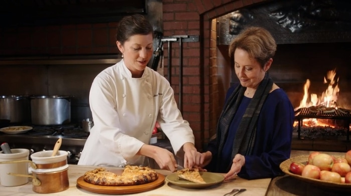 Alice Waters in her MasterClass