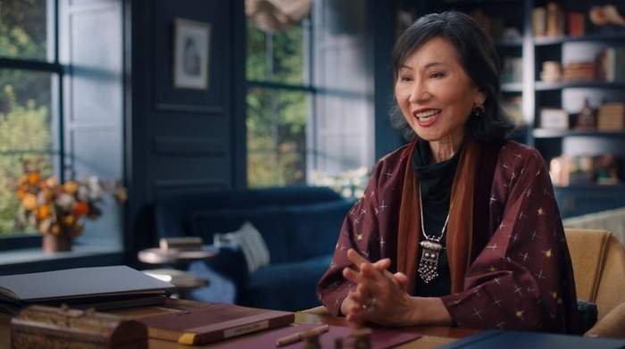 Amy Tan in her MasterClass