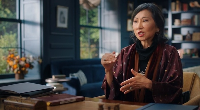 Amy Tan teaches fiction