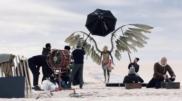 Annie Leibovitz Vogue photoshoot