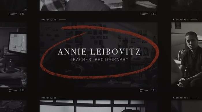 Annie Leibovitz Teaches photography