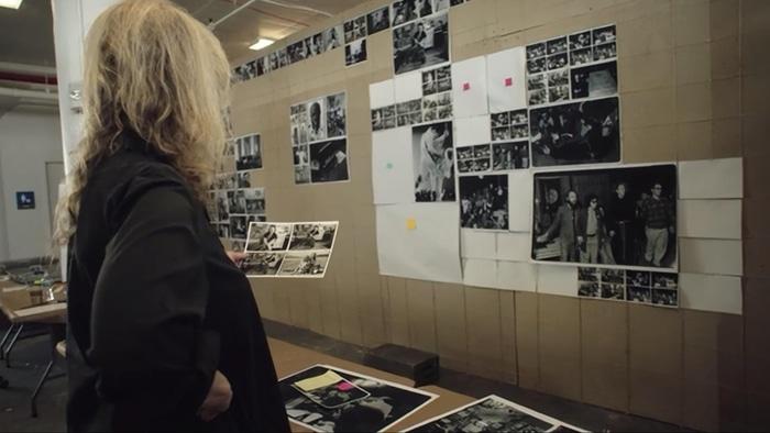 Annie Leibovitz teaching her MasterClass