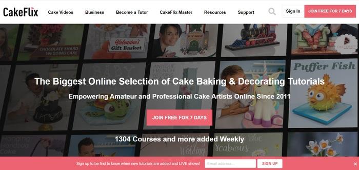 Cakeflix best baking class
