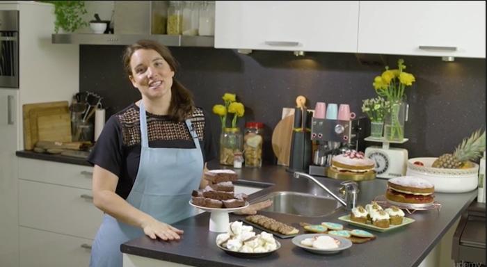 Rachel Reynolds teaches baking basics