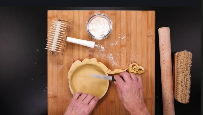 Chef Professor Philippe Salomon teaches French Pastry