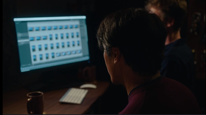 Jimmy Chin editing pictures