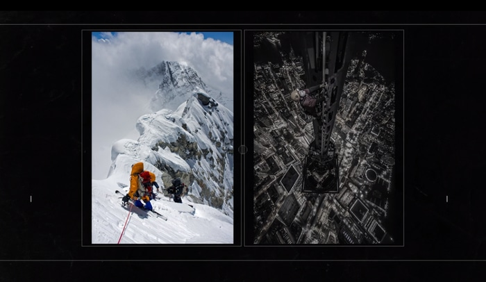 Jimmy Chin's pictures