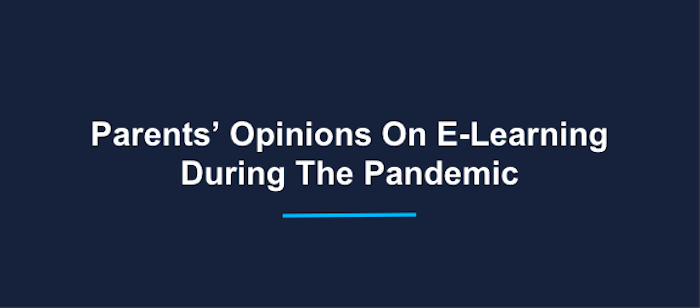E-learning during the pandemic statistics