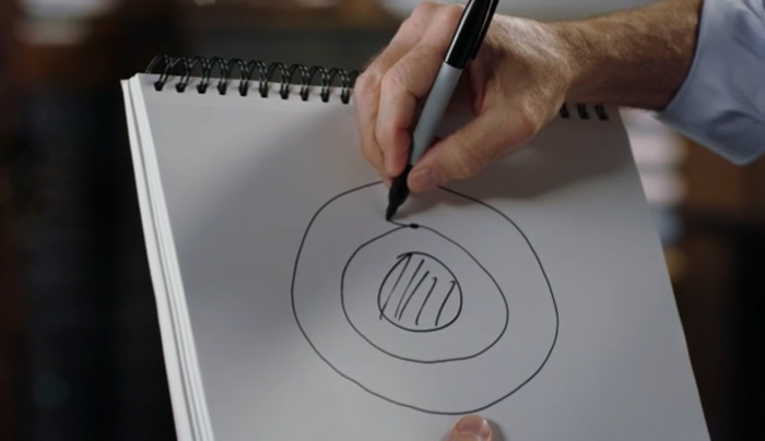 Chris Hadfield drawing