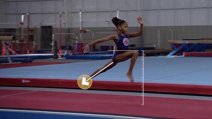 Vault gymnastics