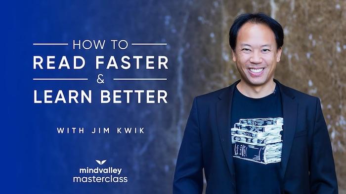 Jim Kwik Speed Reading
