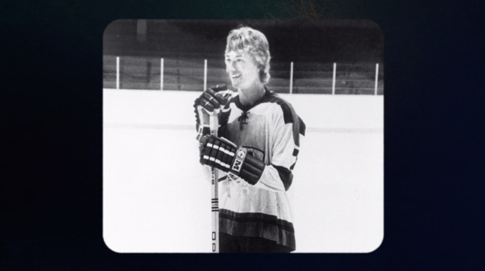 Gretzky's early days in the NHL