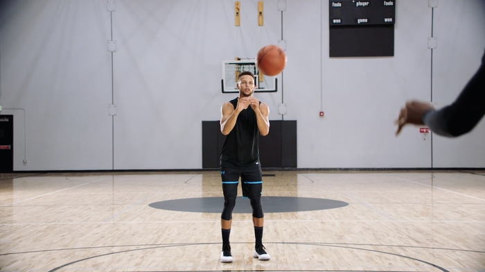 Stephen Curry MasterClass shooting off the catch