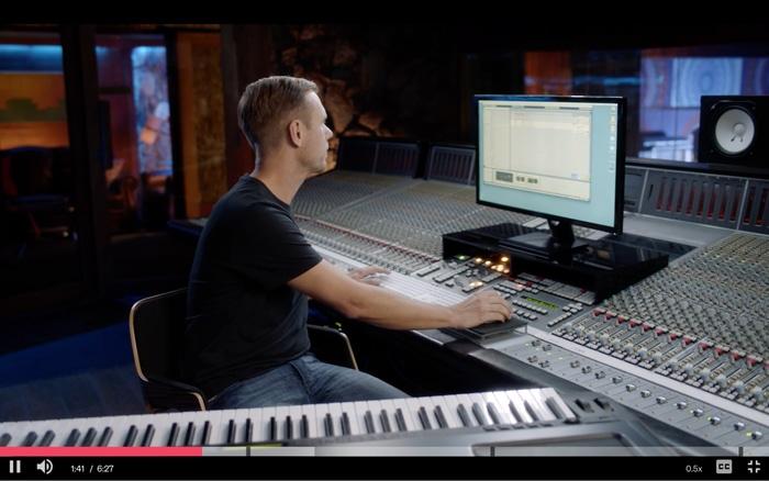 Armin van Buuren teaching