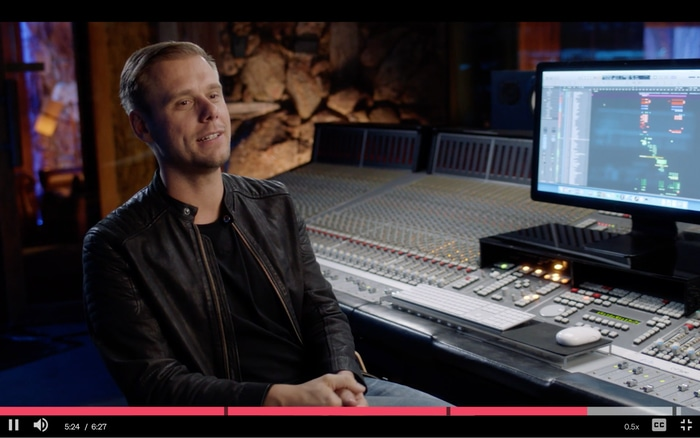 Armin van Burren teaching