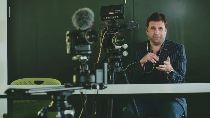 Philip Bloom teaches filmmaking