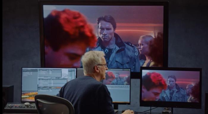 James Cameron Terminator Club Scene