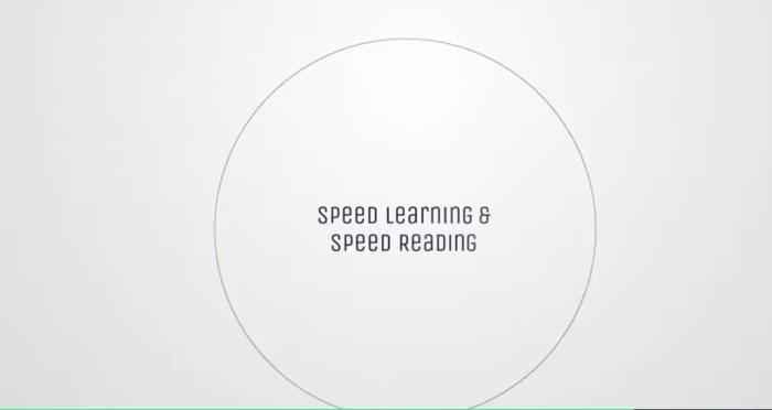 The Ultimate Speed Reading Training Program & Formula