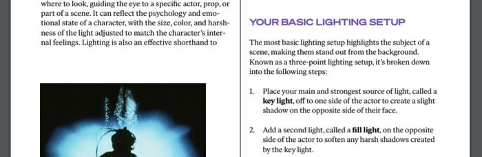 James Cameron Workbook