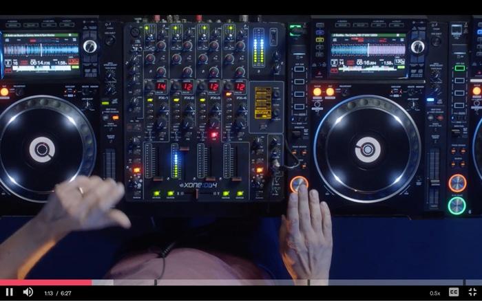Armin van Buuren building a set and mash ups
