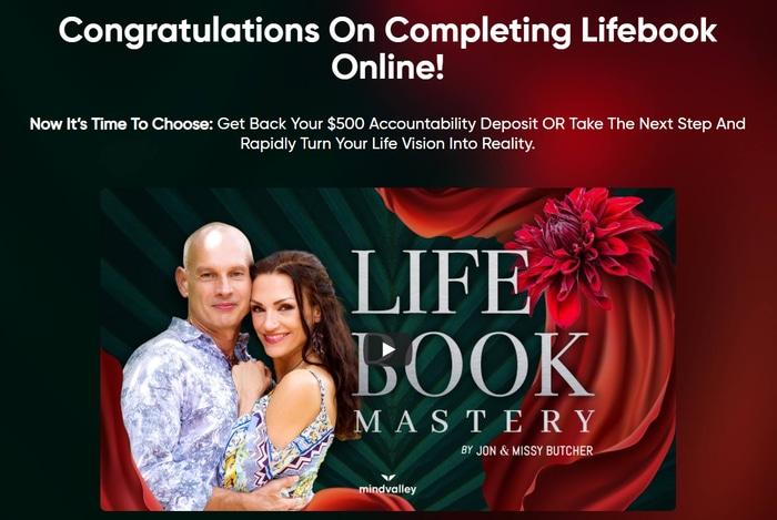 Completing Lifebook online