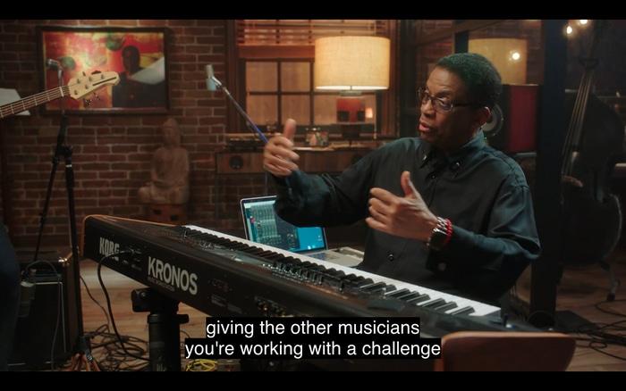 Herbie Hancock talking about jazz