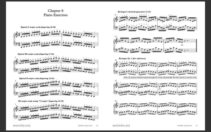 Herbie Hancock piano exercise