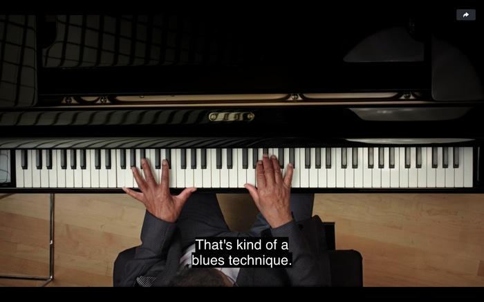 Herbie Hancock teaches a jazz technique