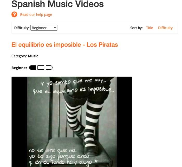 MosaLingua music videos