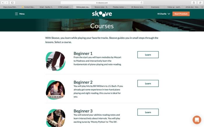Skoove Courses