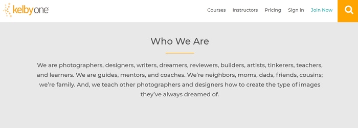 KelbyOne who we are